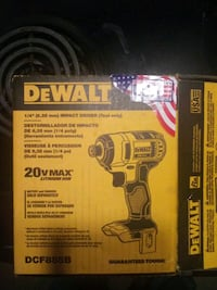 Dewalt 20v max 1/4 in impact driver tool only Portland, 97220