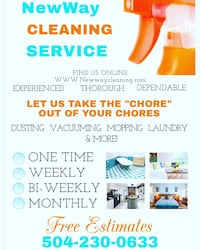 Cleaning Service New Orleans, 70112