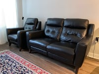 Leather Couch Recliner Ashburn, 20147