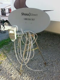 gray Shaw direct satellite dish Edmonton, T5T