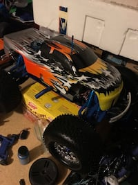 Traxxas T-Max Completely upgraded RTR Sunrise, 33322