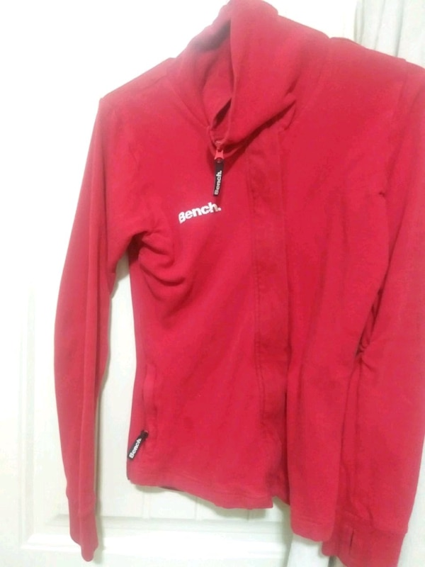 red Bench zip-up softshell jacket