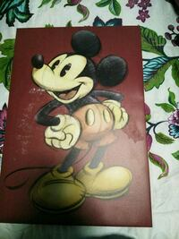 Framed Mickey mouse El Paso