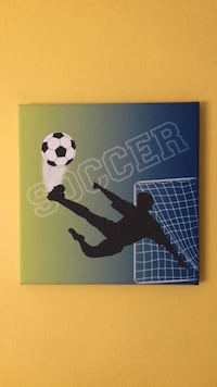 Soccer painting  Guelph, N1H 8C8