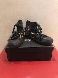 All star converse HI sequin black/gold  Rezzato, 25086