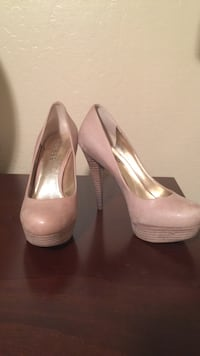 GUESS nude leather heels San Jose, 95110