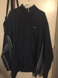 black and blue Nike zip-up jacket Surrey, V3S