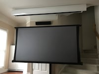 "100"" screen innovation zero-g motorized screen Fairfax, 22030"