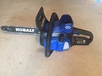 Kobalt chainsaw no battery  Temple