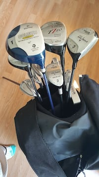 Pro for4mula Tour Golf clubs with bag