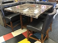 Marble Top Table With Bench & 2 Chairs Virginia Beach, 23462