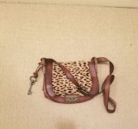 New Leather  Fossil Cross Body Bag