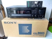 Sony STR-D665 A/V AM-FM Stereo 5.1 Receiver Remote Whitchurch-Stouffville, L4A 0J5
