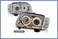 FAROS DELANTEROS ANGEL EYES VW POLO 6N2 MADRID