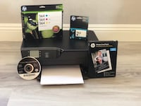 HP Color Printer W/ extra Ink Henderson, 89011