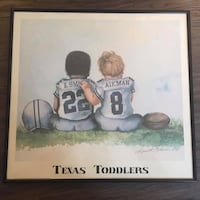 Framed Texas Toddlers Cowboys Picture Manchester, 03104
