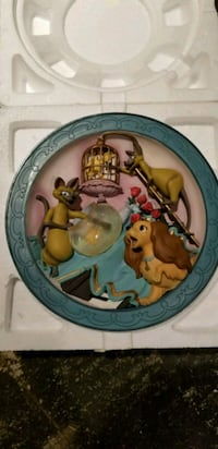 (4) Disney Lady and the Tramp 3D plates Centereach, 11720