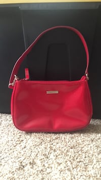 Nine West shiny red leather purse