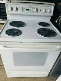 white electric coil range oven Temple Hills, 20748