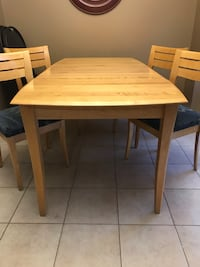 Kitchen Table and Chairs Brampton, L6R 0G1