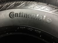 4 tires all season continental 225/65/R17