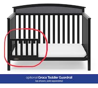 New, unused.. Graco Toddler GuardRail, Espresso, Safety Guard Rail for Convertible Crib & Toddler Bed St Thomas, N5R 6M6
