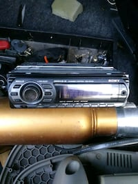 black soney 1-DIN car stereo head unit North Highlands, 95660