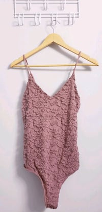 Mauve Lace Bodysuit Size S-M  North York, M3K 2C1