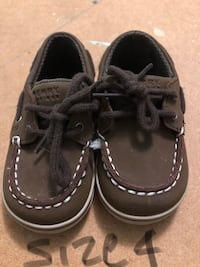 pair of black boat shoes Rome, 30165