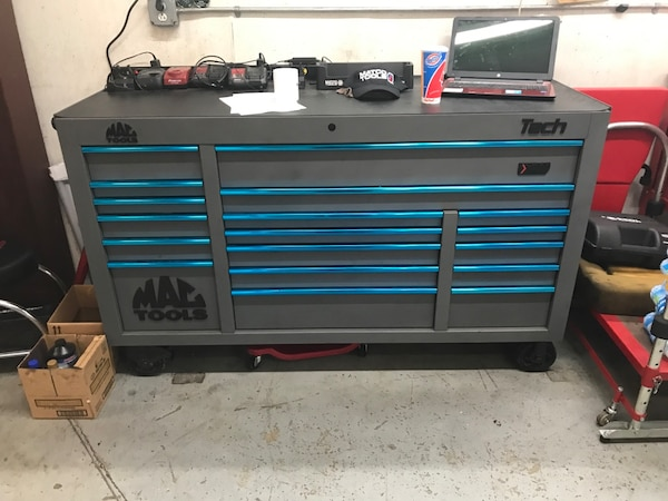Used Mac Tools Triple Bank Tool Box For Sale In