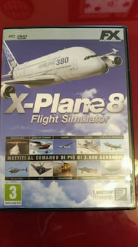 X-Plane 8 Flight Simulator Brugherio, 20861