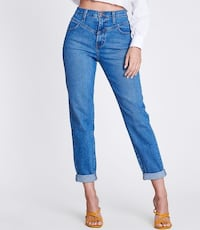 **FREE SHIPPING* New Made in USA Mom Jeans Size 5-15 Montréal