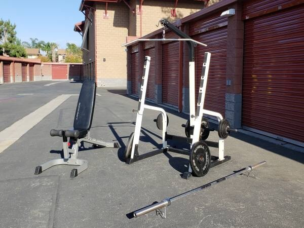 Used Health Fitness Equipment Powerhouse Weight System For
