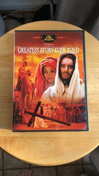 The Greatest Story Ever Told DVD Movie