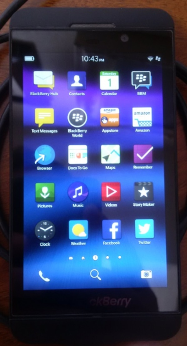 BlackBerry Z10 - Unlocked GSM