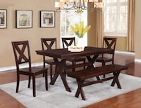 Real Wood Dining Set! Retails $800-1000! Can deliver! Delta, V4M 3W3