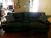 2 Seat Electric Reclining Brown Couch Santa Ana, 92705