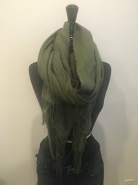 Brand new olive scarf