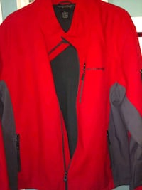 Mens Extremely Nice Red and Gray XXL Jacket, $25 San Antonio, 78226