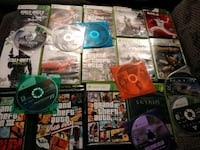 Xbox 360 console games all 22 games for 40.00 firm West Valley City