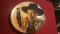 Vintage Collector's Plate - Gary Cooper by Susie Morton numbered  #11450V