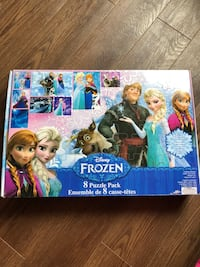 8 frozen puzzles all in tact exciting  Burlington, L7L 1X4