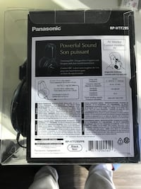 BNIB Panasonic stereo head phone