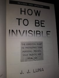 How to be invisible Urbana