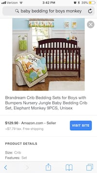 black and brown wooden crib screenshot Herndon, 20170