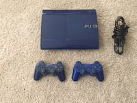 Sony ps3 super slim console with two controllers Woodbridge, 22191