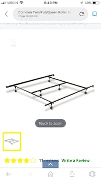 Double/Queen Bed Frame Barrie, L4M 6J8
