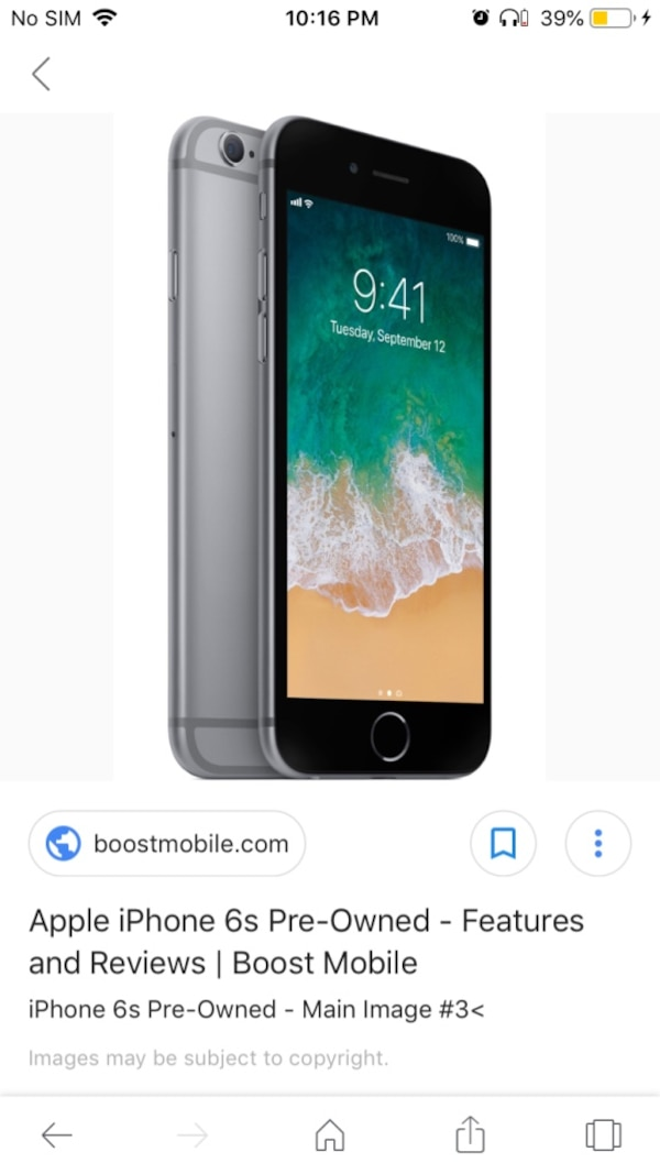 iPhone 6s Unlocked With Otterbox like case