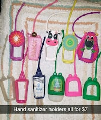 Hand sanitizer holders. All for $5 Sioux Falls, 57105