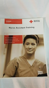 American Red Cross Nurse Assistant Training book